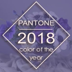 Pantone 2018 color of the year. New wedding trends 2018 by Cali Bouquet